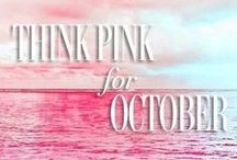 GO Pink! Breast Cancer Awareness / October is National Breast Cancer Awareness Month. Help us by increasing awareness of the disease. As a group we can help to find research for this cause, become aware of prevention and work for a cure. Support the Ladies! GO PINK!