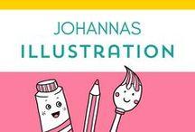 Johannas Illustrationen / Johanna, eigentlich Illustratorin, postet hier ihre Illus.