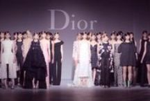 """Fashion // DIOR / """"A dress is a piece of ephemeral architecture, designed to enhance the proportions of the female body."""" - Christian Dior"""