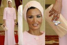 Sheika Mozah bint Nassar of Qatar