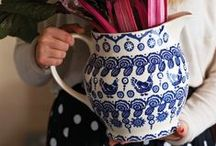 My China is Blue / Blue and white. Pottery  and ceramics. Forever and ever.