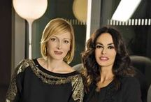 Maria Grazia Severi & Maria Grazia Cucinotta for Komen