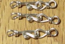 Silver - clasps etc