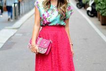 fashion ideas / Loving the brown belt!