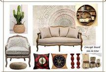 Lifestyle Projects: Decor, Fashion & Styling / Concept Boards/ Mood Boards by Cristiana Gomes: Decoração de Interiores (Projetos de Remodelação de Espaços Habitacionais), Moda/ Styling e Maquilhagem. https://www.facebook.com/projetosarte/