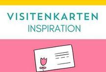 Visitenkarten Inspiration / Was solltest du als Business-Lady immer in der Tasche haben und großzügig verteilen? Deine Visitenkarten natürlich!  Wie die aussehen könnten und Inspiration, damit sich deine von anderen unterscheiden, findest du hier!