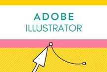 Adobe Illustrator Tipps / Der Adobe Illustrator... die einen lieben ihn, die anderen hassen ihn, die nächsten haben noch nie damit gearbeitet. Warum dieses Programm dein Illustratoren-Leben erleichtern kann und welche tollen Sachen sich damit realisieren lassen, findest du hier.