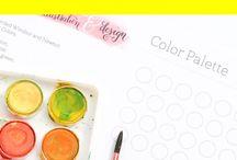 Materialien zum illustrieren / Mit welchen Stiften, Pinseln, Papier, Skizzenbuch und Zeichen-Programmen zeichnet und illustriert man eigentlich als Anfänger oder Illustrator.
