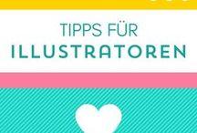 Tipps für Illustratoren / Wer Illustrator ist oder werden möchte findet auf diesem Board ganz viele Tipps rund um Photoshop, Social Media, Online Tools, zeichnen lernen, Geld verdienen, aber auch Inspiration und Tipps in Sachen Skizzenbuch, Mock Ups, Stifte zum zeichnen und lettern, usw., um den Beruf Illustrator erfolgreich zu meistern.