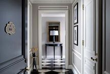 Chic black + white / Crisp and endlessly stylish, black and white is a combination that offers myriad possibilities for interiors. Here's a primer on how it can work in a selection of rooms and even exterior spaces.