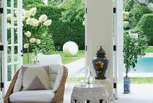 Doors to the garden / How you connect an interior with the outside world can transform a space both in terms of how it looks and also how it feels. Here are some examples of how to nail it, for spaces that flow and are flooded with natural light.