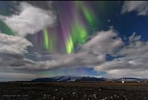 Northern Lights in Iceland / Do you want to see the Northern Lights? There is nothing more exciting than searching for the Northern Lights in Iceland. It makes a great city break, romantic getaway or a family holiday #Alliceland #Iceland #travel all-iceland.co.uk