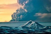 Volcanoes / #Alliceland #Iceland #travel
