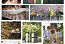 Rustic Wedding Ideas / Favourite images to inspire a rustic themed wedding