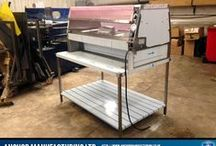 Henny Penny Chicken Display Stand / This is a replacement Henny Penny Chicken Display Stand, designed for takeaways and restaurants. This chicken display stand is custom made to each Henny Penny product, fabricated from Sheffield Stainless Steel in our factory.