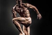 Spieren in beweging