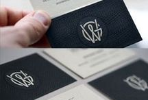 B&W Identity / identity design, all in black and white