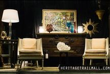 fabulous HTM finds / Heritage Trail Mall in Wilmette, IL, carries an extensive assortment of home decor, furniture, antiques, artwork, jewelry, collectibles and more!