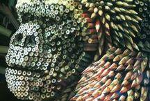 Kunstige Kunst & Materiaal