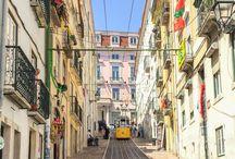 Portugal / Tableau d'inspiration pour organiser un voyage au Portugal et notamment à Lisbonne