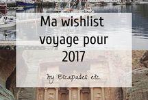Inspiration voyages / Toutes mes inspirations voyages