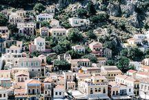 Grèce / Tableau d'inspiration pour voyager en Grèce
