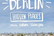 Berlin / Cool locations in Berlin / places for photoshootings