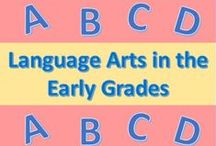 Language Arts in the Early Grades / This board features educational learning resources, activities, and lesson plans related to language arts for teachers who teach grades preschool, kindergarten, first grade, and second grade.  I will be pinning all of these language arts resources here to this board.  #languagearts #teachers #kindergarten #preschool #firstgrade #secondgrade #tpt