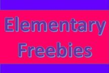 Elementary Freebies / Here is a board where you will find freebies for elementary teachers!  I will be pinning free printables, activities, worksheets, and resources from TPT and other sources.  #elementary #education #teachers #tpt #free #freebies