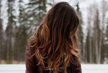 ombre. hair.