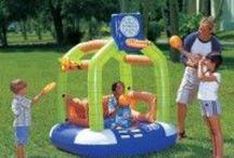 Giochi gonfiabili ⚽️ / Alcuni giochi gonfiabili da giardino e per piscine, ideali per i bambini di tutte le età, in vendita su www.grupposanmarco.eu