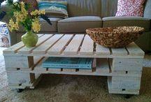 Palets/ cajas madera/ madera en general / Muebles e ideas con palets, cajas de madera y madera en general