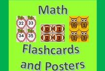 Math Flashcards and Posters / This is a board for any and all math flashcards and posters.  Please pin one free item or idea for every 3 pins.  If you would like to be added to this board please email me the board name along with your pinterest information at scook2000@comcast.net.