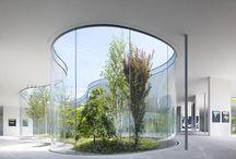 Arc: SANAA (Japan) / SANAA (Sejima and Nishizawa and Associates) is a multiple award-winning architectural firm based in Tokyo, Japan. http://www.sanaa.co.jp / by Henkve Ve