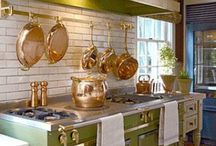 French Country Kitchen / French Country Kitchens - filled with warmth, flavor and tradition. You'll love it! / by Henkve Ve