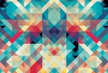 Shining geometric design