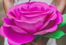 Flores / Ideas para hacer flores artificiales