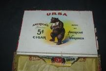 old packaging / Tradecards and vintage packaging