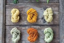 natural dyeing / Different ways to dye fabrics or yarns