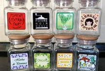 Francais_Étiquettes d'épices / Étiquettes d'épices, 120 De Belles Étiquettes pour Pots à Épices - Étiquettes De Cuisine (Français)  http://www.ebay.com/itm/-/181988407320?