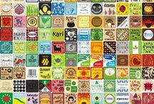 Čeština_Etikety na kořenky / Etikety na kořenky, samolepky na kořenky, kuchyně, nálepky na kořenky, bylinky, koření, kořenící směsi, potraviny, dózy, organizér, špajz, spižírna, úklid, krása