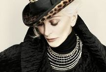 The Queens / Carmen Dell'Orefice, Iris Apfel, and Daphne Guinness gorgeous at every age!