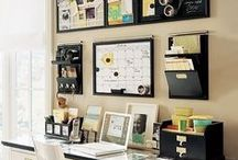 Home - Office Space / Ideas for the home office
