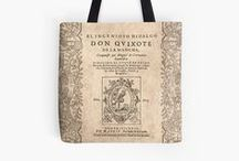 Biblio Bags / Tote bags, Drawstring bags and Pouches for literature lovers
