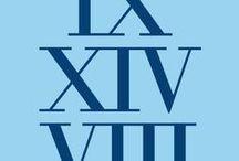 Roman Numeral Design