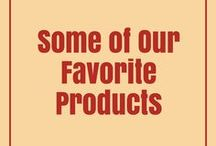 Products / Looking for great products to incorporate into your diet or your home entertaining decor? We've gathered a few of our favorites.