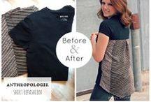 DIY clothes & re-fashion / clothes refashion DIYs and inspiration styles / by Anna Karnov