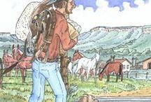 Hank the Cowdog Illustrations