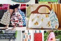 kabelky - šité a háčkované / šití