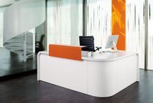 RECEPTiON DESKS / How to make an impact with the minimum of show.